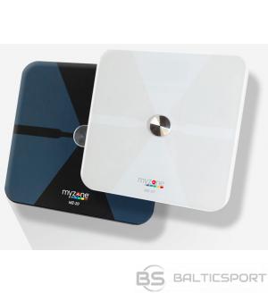 Myzone MZ-20 digitālie svari ar bluetooth/ viedie svari