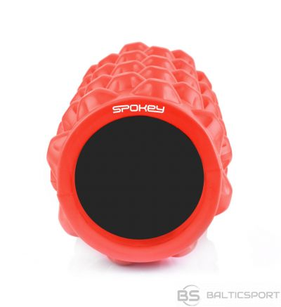 Spokey ROLL II Intensive massage roller, 33 x 15, Red, PU foam, PVC