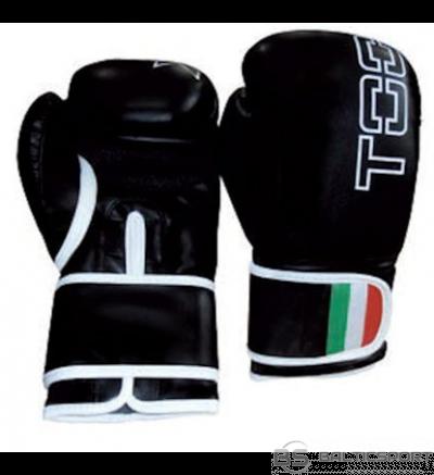 Boxing gloves TOORX LEOPARD BOT-002 10oz black eco leather