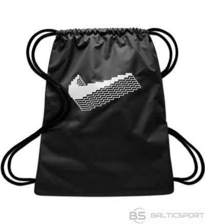 Mugursoma Nike Y Graphic Gymsack CK5582 010 / Melna /
