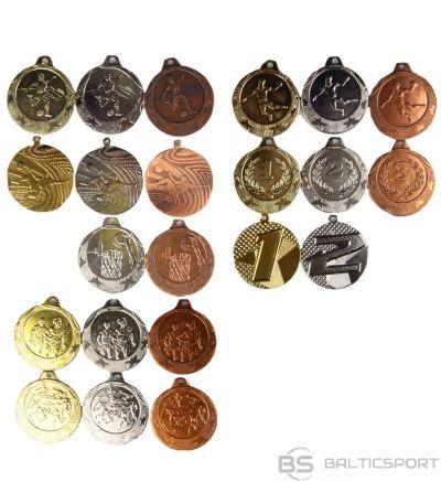 Gtsport Medaļa: maza disciplīna / maza / zelts / sudrabs / bronza