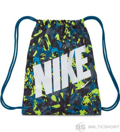 Nike bērnu drukāts sporta maiss CU8339 301 / Jūras zila /