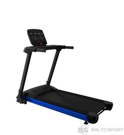 WNQ F1-2000M Foldable Home Use Treadmill, Wireless heart rate test, 100 kg, 1.HP - 1.5HP MAX, Matt Black