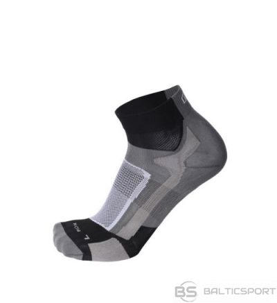 Mico Professional Running Sock Light / Melna / Pelēka / 41-43