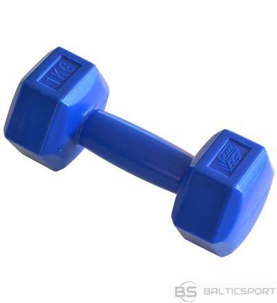 BS Kompozītmateriālu hantele 1 kg EB FIT zila 588945