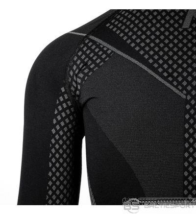 Sieviešu termoaktīvs sporta krekls Alpinus Active Base Layer melni pelēks GT43180 / M