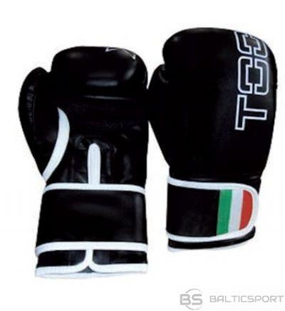 Boxing gloves TOORX LEOPARD BOT-001 8oz black eco leather