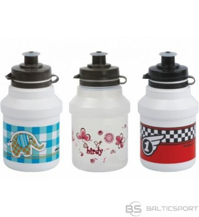 Polisport Kids + bottle cage / Balta / Rozā / 350ml