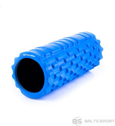 Spokey TEEL II Roller, 33.5 x  14.5 cm, Blue, PU Foam, PVC