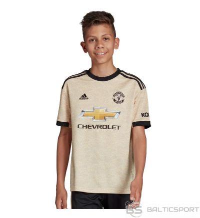 Adidas Manchester FC Away JSY Y DX8945 krekls / beżowy / 128 cm