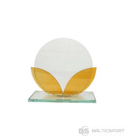 Stikla trofeja Tryumf / 12x10,5 cm /