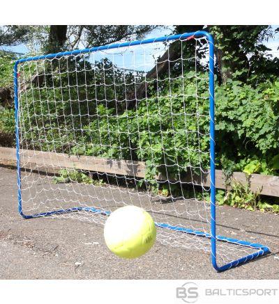 Acito Vārti futbola ar tīklu, zili,180x120x60cm