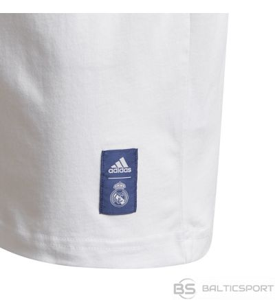 Adidas Real Madrid Kids Tee GH9992 / 164 cm / Balta