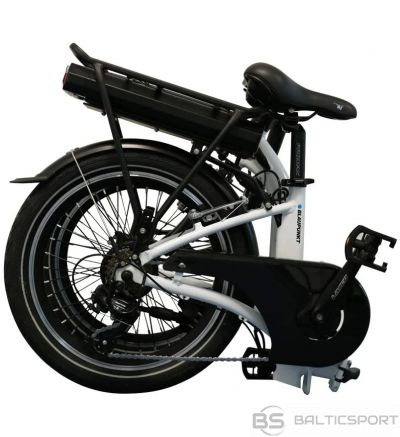 Blaupunkt Folding E-bike Speed, Wheel size 20 '', Warranty 24 month(s), 22 kg, Aluminum, White/Black, 70 km