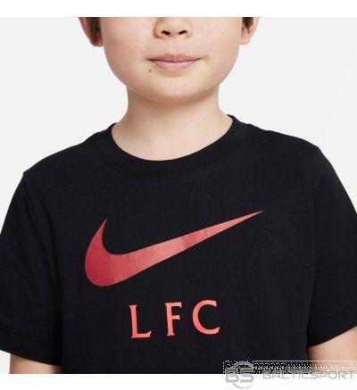 Nike Liverpool FC Big Bērnu futbola t-krekls DB4816 010 / S (128-137cm) / Melna