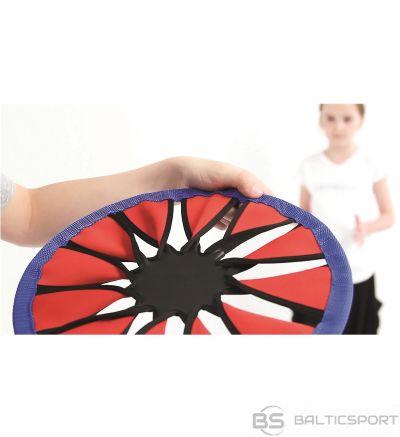 Frisbija DisksColor Twist Frisbee / auduma frrisbija disks/ mazgājams