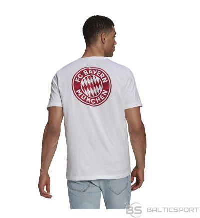 Adidas FC Bayern Street Tee GR0705 T-krekls / Balta / L