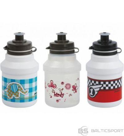 Polisport Kids + bottle cage / Balta / Sarkana / 350 ml