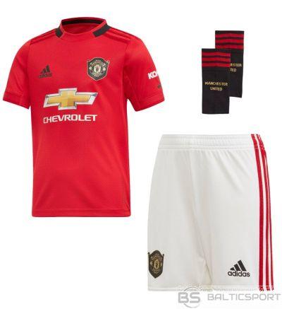 Komplekts adidas Manchester United FC mājas mini DX8950 / Sarkana / 92 cm