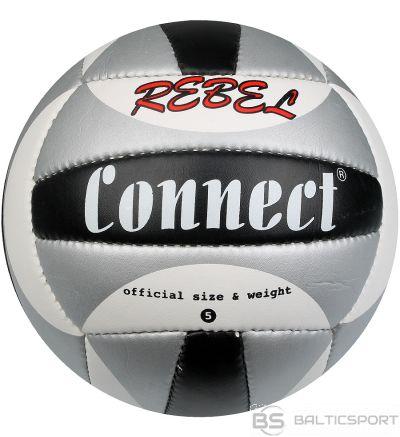 Connect Pievienojiet nemiernieku volejbolu / Melna /