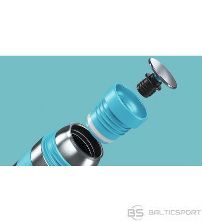 Boddels HEET Vacuum flask with cup Turquoise blue, Capacity 0.35 L, Diameter 7.2 cm, Bisphenol A (BPA) free