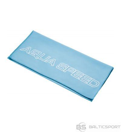 Aqua-speed Mikrošķiedras DRY FLAT dvielis / Zila / 100x50 cm