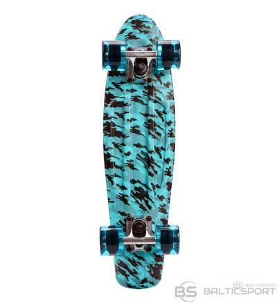 Meteor Skateboard Multicolor zils un melns 22609 ( ir veikalā)