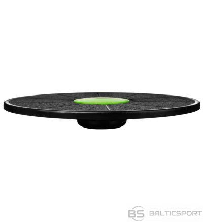 Spokey BALANCE PLATFORM Plastic pad, 39 x 6 cm, Black/green