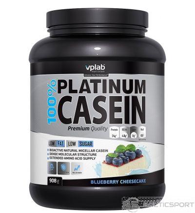 VPLab 100% Platinum Casein 908 g - Melleņu-siera kūkas / 908 g