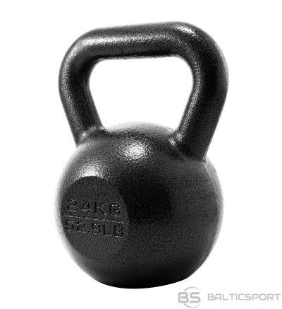 Svara bumba PROIRON PRKHKB24K Kettlebell Weight, 1 pc, 24 kg, Black, Cast Iron
