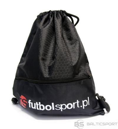 Futbolsport Mugursoma Melna futbola sporta soma S387690 / Melna /