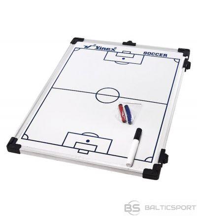 Abpusēja taktiskā mape - futbola 90 x 60 cm
