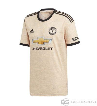 T-krekls Adidas Manchester United FC Away JSY Y DX8945 / beżowy / 140 cm