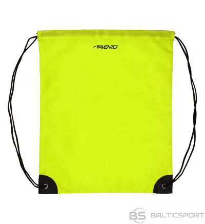 Schreuderssport Backpack with drawstrings AVENTO 21RZ Fluorescent yellow