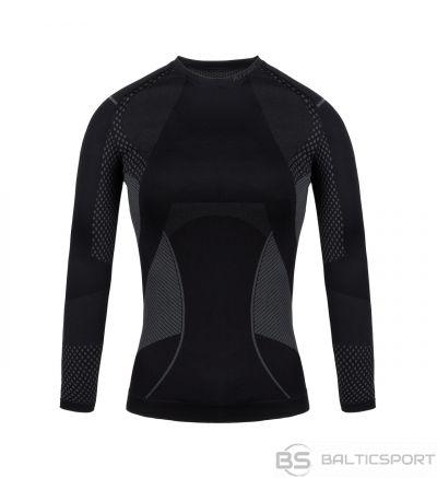 Sieviešu termoaktīvs sporta krekls Alpinus Active Base Layer melni pelēks GT43180 / L