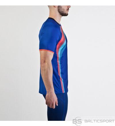 Joma Elite V S / S skriešanas krekls / Zila / 164 cm