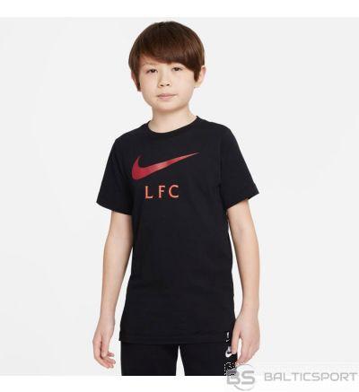 Nike Liverpool FC Big Bērnu futbola t-krekls DB4816 010 / XL (158-170cm) / Melna