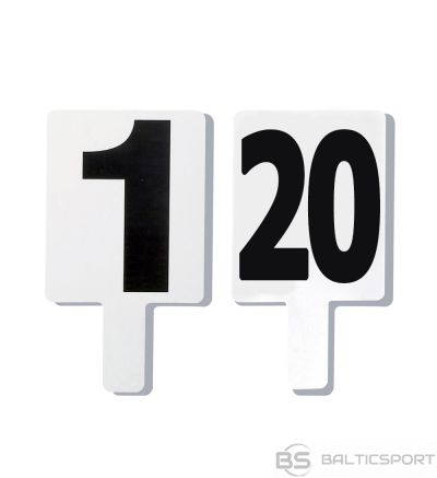 TREMBLAY Fould marker set - number 1 to 20