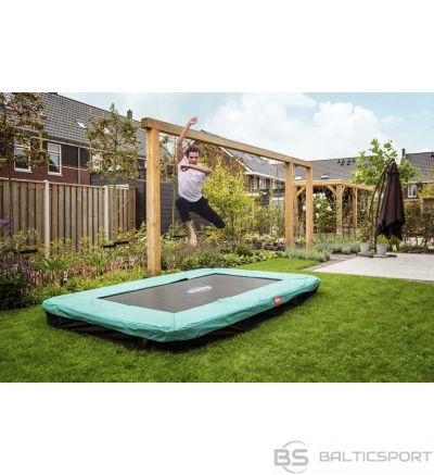 Batuts BERG Ultim Favorit Regular 280 Green + Safety Net Comfort