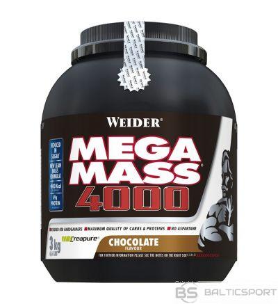 Weider Mega Mass 4000 3 kg - Šokolādes / 3 kg