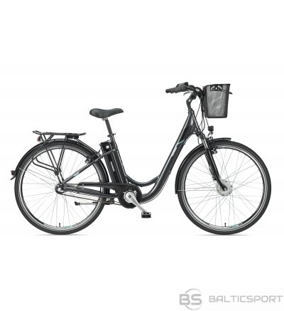 Telefunken Multitalent RC830, City E-Bike, 250 W, 28 '', 24 month(s), Anthracite