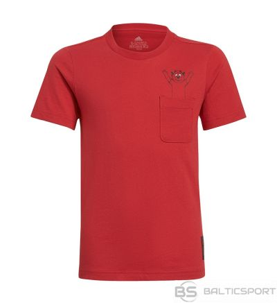 T-krekls Adidas Manchester United Kids Tee GR3881 / Sarkana / 128 cm