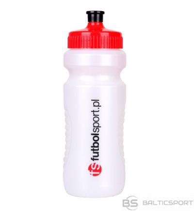 Futbolsport Futbola sporta ūdens pudele 700 ml / 700 ml / Balta