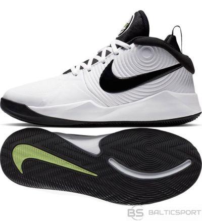 Nike Team Hustle D 9 (GS) AQ4224 100/38 1/2 / Balta kurpes