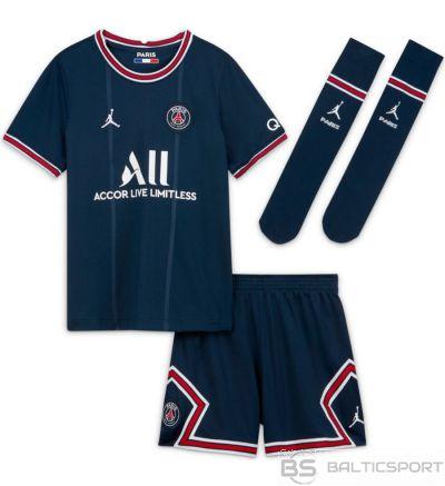 Iestatiet Nike PSG 2020/21 Sākums Little Bērnu futbola komplekts CV8272 411 / M / Jūras zila