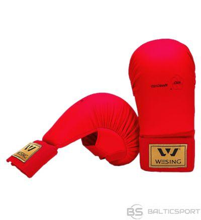 WESING Karate gloves WKF L red
