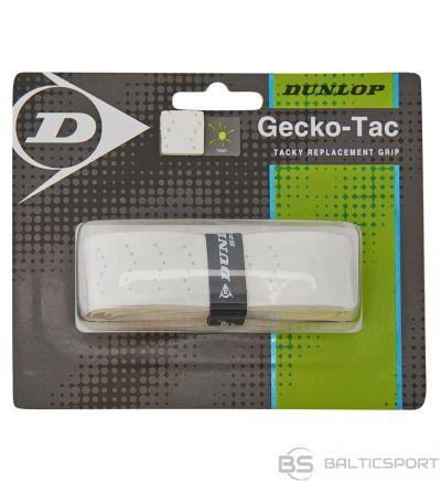 Tennis racket replacement grip Dunlop GECKO-TAC 1-blister white
