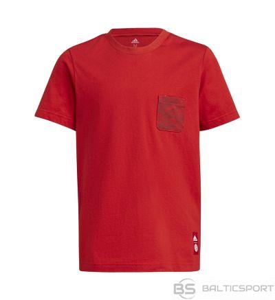 Adidas FC Bayern Kids Tee GR0678 T-krekls / Melna / 140 cm