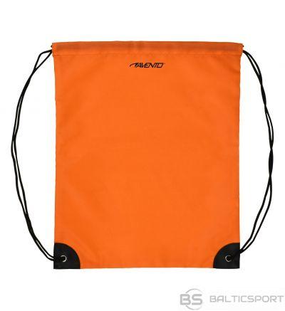 Schreuderssport Backpack with drawstrings AVENTO 21RZ Fluorescent orange