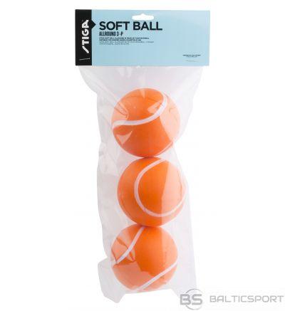 Stiga Soft Ball Active bumbiņa 3 gab. 63 mm